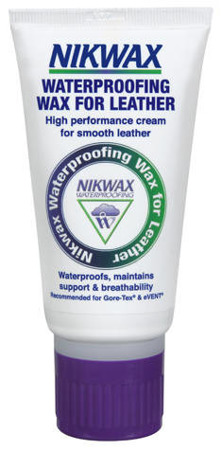 Wosk do skóry NIKWAX Waterproofing Wax for Leather 100ml w tubie bezbarwny